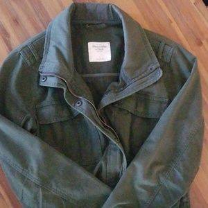 Abercrombie and Fitch Military Jacket